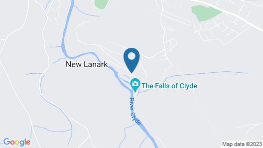 New Lanark Mill Hotel Map