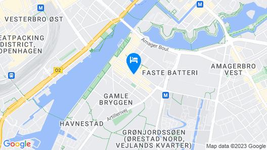 Hotel Copenhagen Map
