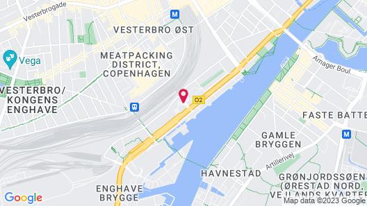 CABINN Copenhagen Map
