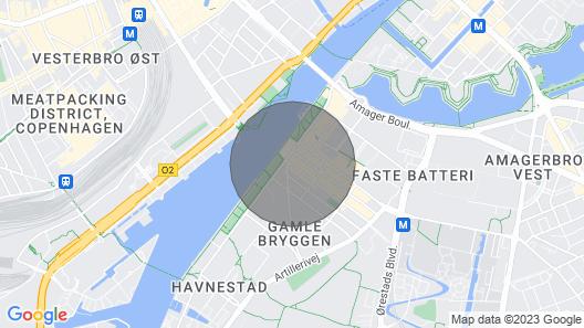 City Apartment in Copenhagen With 2 Bedrooms Sleeps 4 Map