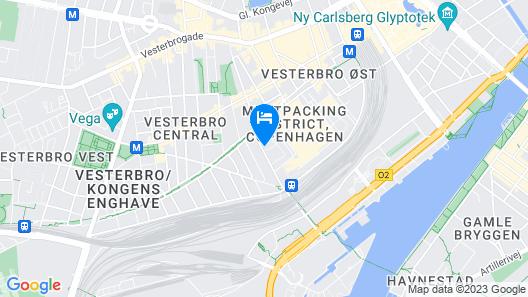 Scandic Kødbyen Map