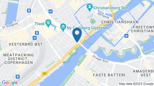Danhostel Copenhagen City - Hostel Map