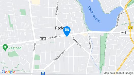 Cozy Apartment Nearby Copenhagen Central Map