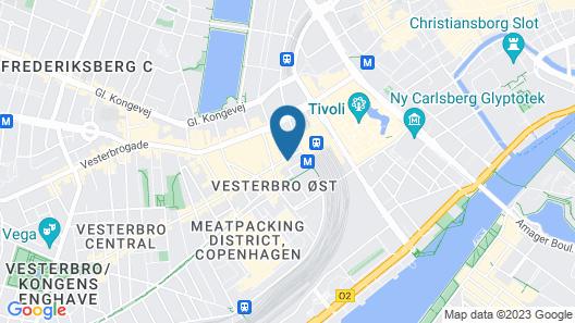 Good Morning City Copenhagen Star Map