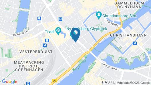 Nobis Hotel Copenhagen, a Member of Design Hotels Map