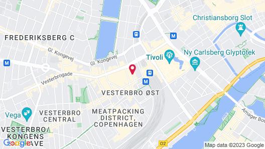 Urban House Copenhagen by MEININGER Map