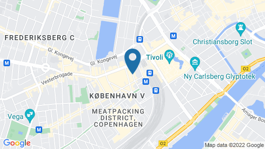 Urban House Copenhagen by MEININGER Map