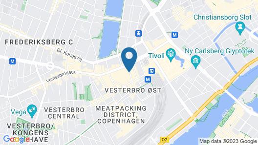 Best Western Hotel Hebron Map