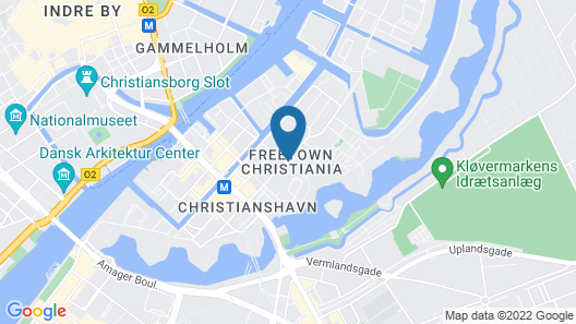 1 bedroom apt Close To Christiania 308-1 Map