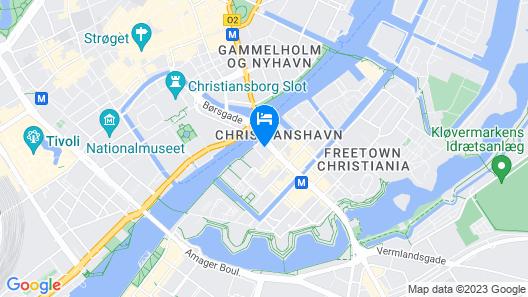 NH Collection Copenhagen Map