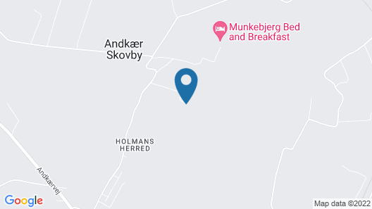 Munkebjerg Bed & Breakfast Map