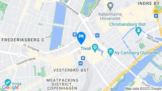 Radisson Collection Royal Hotel, Copenhagen Map