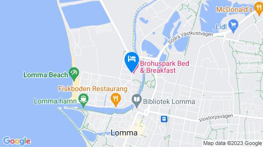 Brohuspark Map