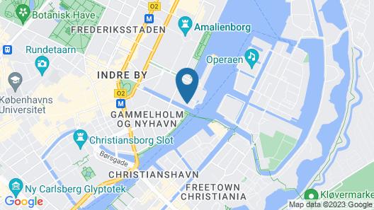 71 Nyhavn Hotel Map