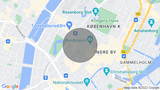Newly Renovated and Very Charming Apartment on the Walking Street in the Heart of Copenhagen Map