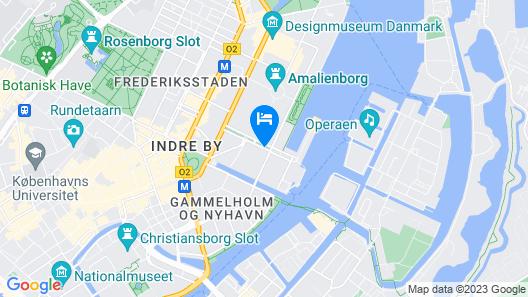 Hotel SKT. Annæ Map