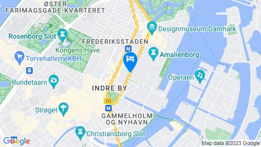 Phoenix Copenhagen Map