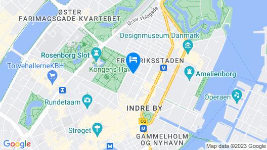 Hotel Christian IV Map