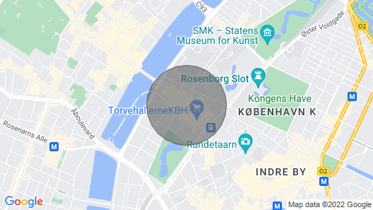 Lovely and modern apartment in the heart of CPH Map