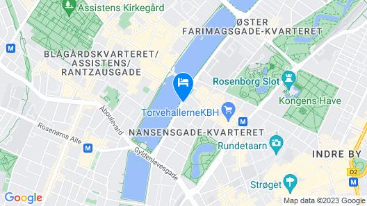 Hotel Kong Arthur Map