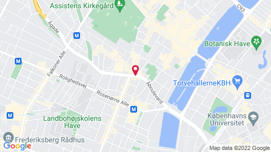 Avenue Hotel Copenhagen by Brøchner Hotels Map