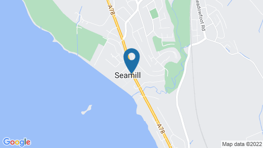 Seamill House Hotel Map