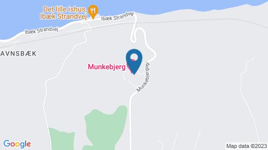 Munkebjerg Hotel Map