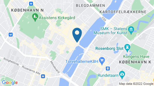 Apartment Nørrebrogade 1254-1 Map