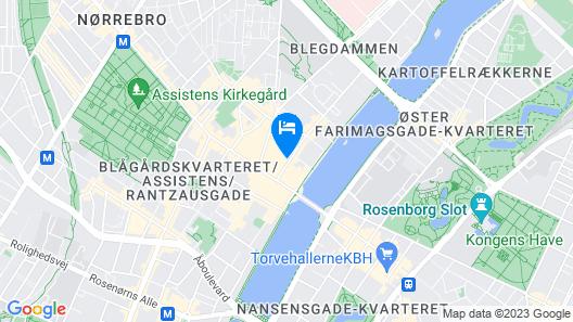 Globalhagen hostel Map
