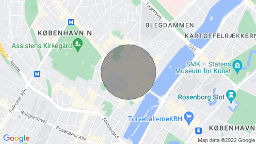 Newly Renovated Apartment in the Heart of Nørrebro Map