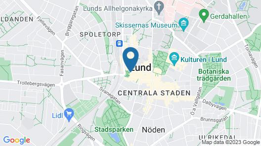 Grand Hotel - Lund Map