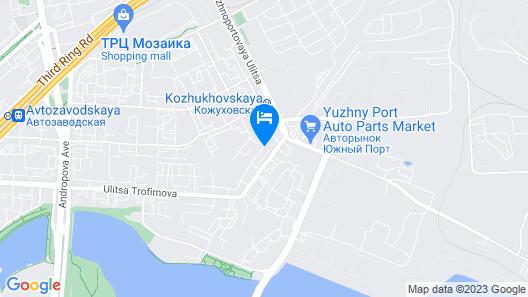 Golden Hotel Map