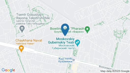ApartLux Kuzminki Map