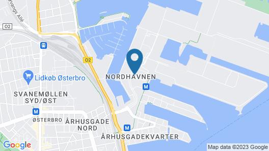 Comwell Copenhagen Portside Dolce by Wyndham Map