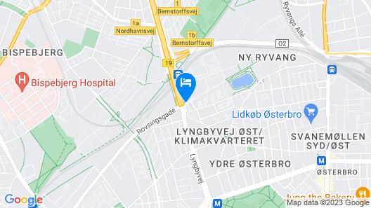 STUDIO1A Hotel Apartments Map