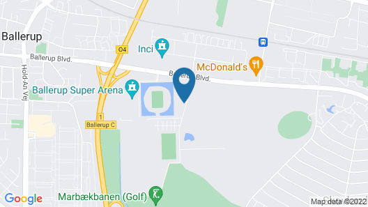 Zleep Hotel Ballerup Map