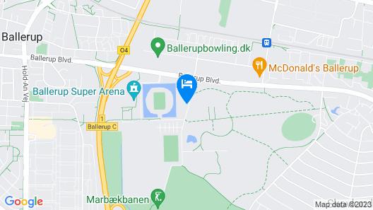 Zleep Hotel Ballerup Map