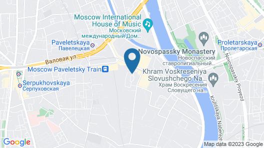 Courtyard by Marriott Moscow Paveletskaya Hotel Map