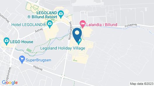 LEGOLAND Pirates' Inn Motel Map