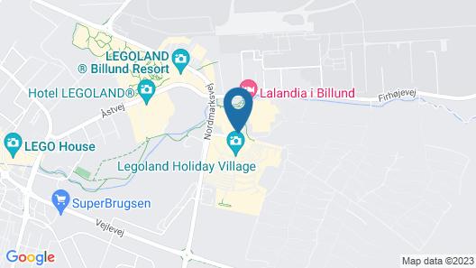 Lalandia Resort Billund Map