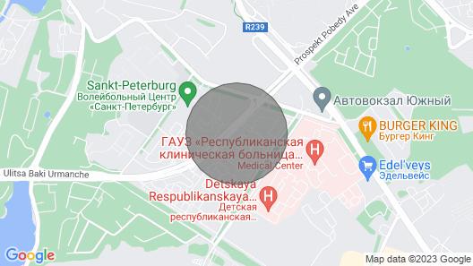 Beautiful Apartment In Kazan Map