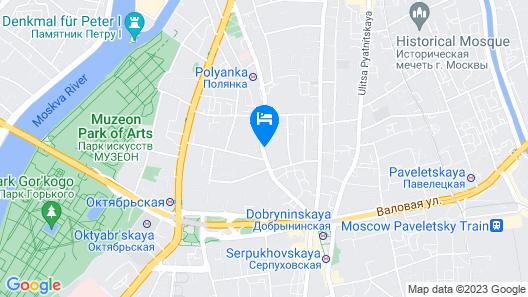 Art Hotel Ecotel Map