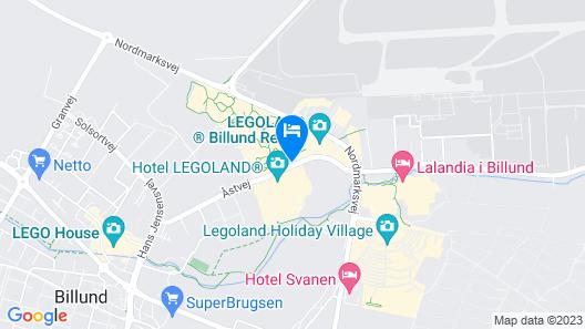 Hotel LEGOLAND, DENMARK Map