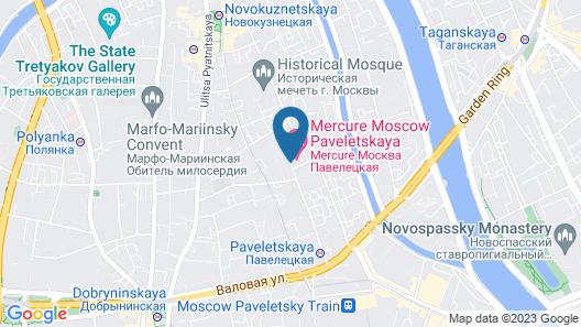 Mercure Moscow Paveletskaya Map