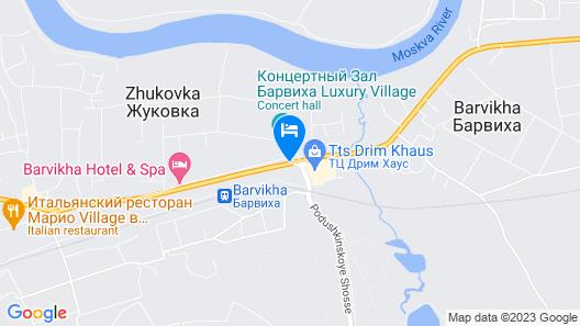 Barvikha Hotel & Spa Map