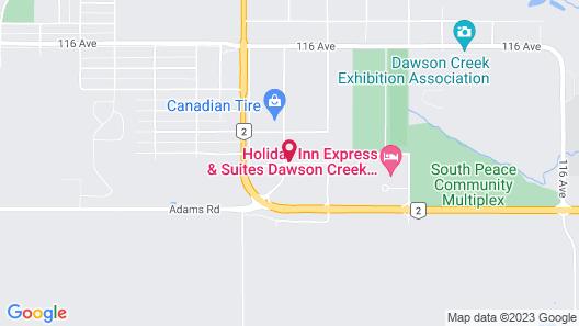 Days Inn by Wyndham Dawson Creek Map