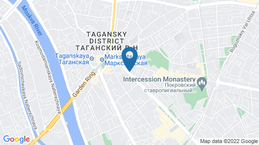 Apart-Hotel Moscow City Center Map