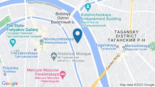 Sadovnicheskaya City Center Map