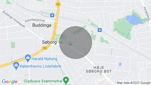 Apartment: Hygge in Søborg Map