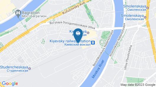 Aparthotel Adagio Moscow Kievskaya Map